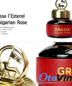 Nước hoa ô tô Grasse cao cấp với thiết kế sang trọng