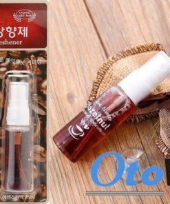 Túi thơm cafe để xe ô tô hazenut hàn quốc sản phẩm mang đến hương thơm nhẹ hàng