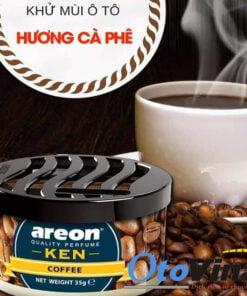 Sáp thơm ô tô Areon Ken mùi cafe