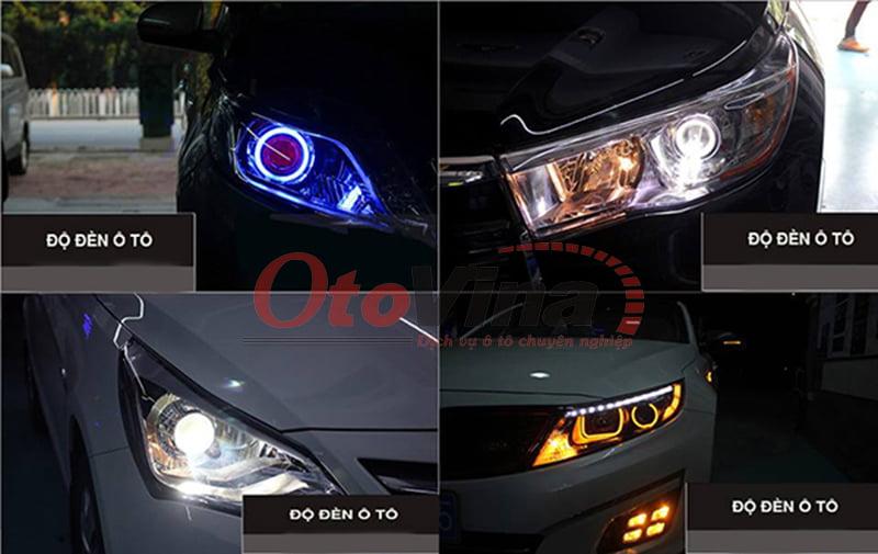 Có nên độ đèn xe ô tô không?