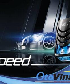 Nước hoa kẹp cửa gió ô tô Aroma Speed Aqua Pháp