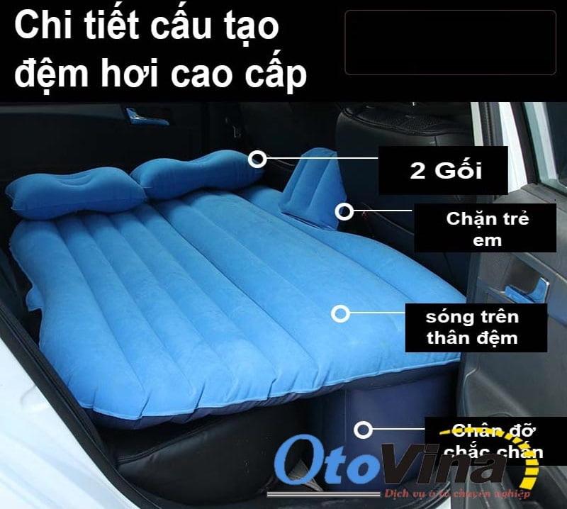 Hướng dẫn cách sử dụng đệm hơi xe ô tô
