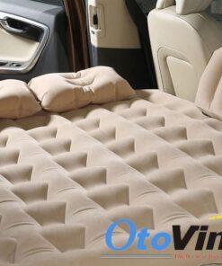 Giường hơi ô tô phủ nhung cao cấp