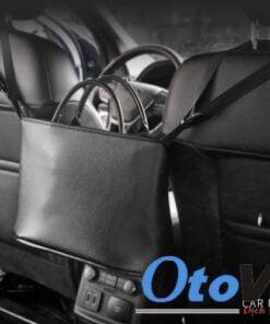 Túi đựng đồ treo giữa hai ghế ô tô là sản phẩm sẽ tối ưu được không gian trên xe ô tô
