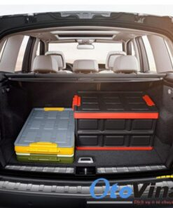 Thùng đựng đồ xếp gọn cho ô tô 56 lít tiện lợi vô cùng