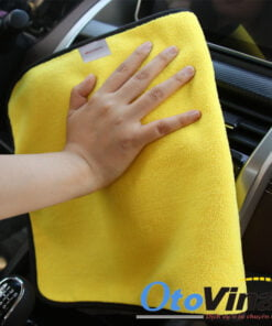Khăn lau rửa ô tô 2 mặt Microfiber
