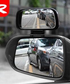 Gương cầu gắn trên gương ô tô phụ trợ giúp lái xe quan sát tốt hơn