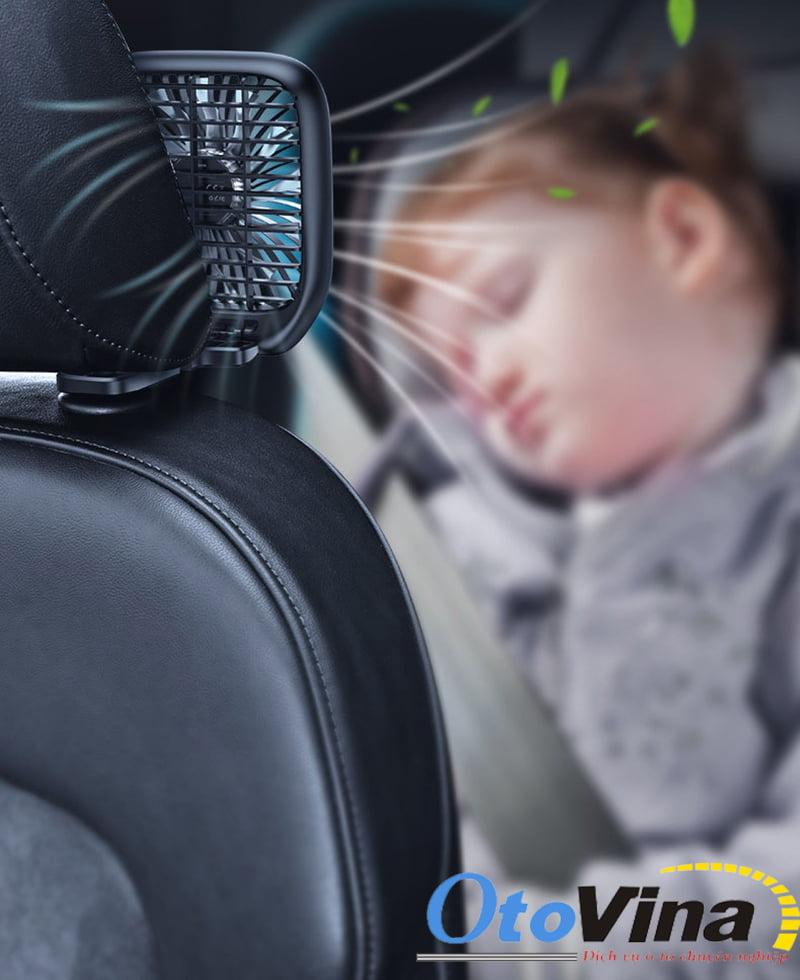 Ưu điểm của quạt mini cho xe hơi chính hãng chất lượng cao
