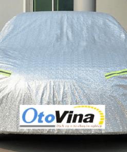 Bạt phủ xe ô tô tráng bạc Hatback, Sedan, SUV Loại 2