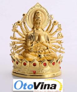 Tượng Phật Quan Âm Thiên Thủ Thiên Nhãn để taplo xe ô tôcủa OtoVina.net