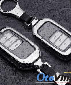Ốp bọc chìa khóa kim loại kèm TPU cho ô tô Honda