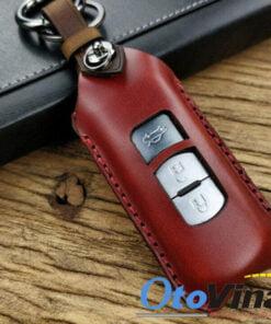 Bao da chìa khóa ô tô Mazda CX5 chắc chắn, mang yếu tố thẩm mỹ cao