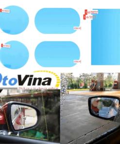 Bộ 4 miếng Film dán Nano chống nước cho kính và gương ô tô