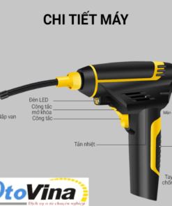Sản phẩm máy bơm lốp không dây điện tử Carzkool CZK-3632 được làm từ vật liệu chất lượng cao theo công nghệ tiên tiến nhất để đảm bảo an toàn cho người sử dụng.