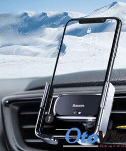 Giá đỡ điện thoại Baseus cảm biến hồng ngoại kẹp mở tự động