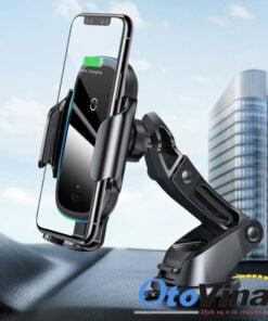 Giá đỡ điện thoại kiêm sạc không dây thế hệ mới nhanh hơn với công suất lên đến 15w