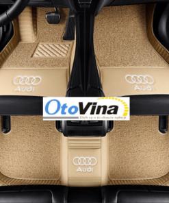 Thảm lót sàn 6D Audi 2021 là loại phụ kiện đồ chơi xe ô tô đóng vai trò làm vật trang trí làm tăng tính thẩm mỹ và độ sang trọng bên trong nội thất xe
