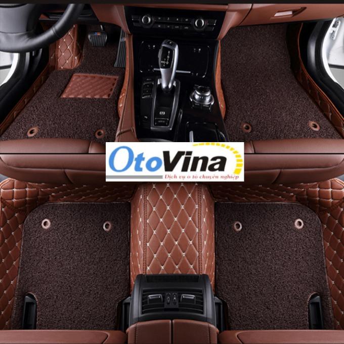 Thảm lót sàn ô tô được làm từ chất liệu da PU cao cấp, siêu bền chống rách và lớp thảm chống bụi siêu bền dễ dàng vệ sinh