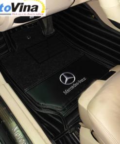 Thảm lót sàn 6D Mercedes-Benz 2021 là loại phụ kiện đồ chơi xe ô tô đóng vai trò làm vật trang trí làm tăng tính thẩm mỹ và độ sang trọng bên trong nội thất xe